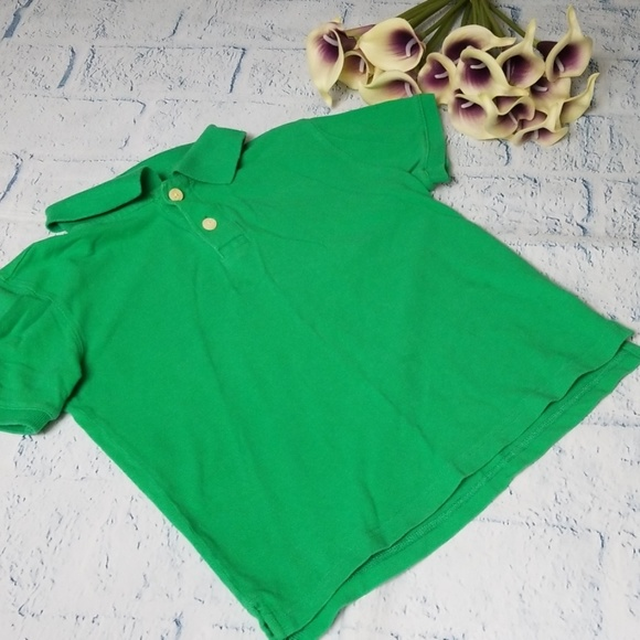 Children's Place Solid Short Sleeve Polo